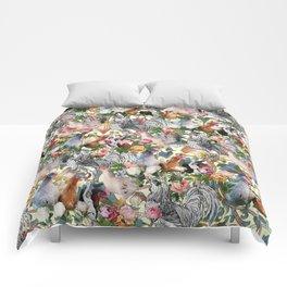 Julia's Chickens Comforters