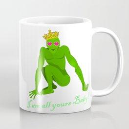 The Frog Prince: I am all yours .... Coffee Mug