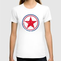 korea T-shirts featuring North Korea cocarde by Nxolab