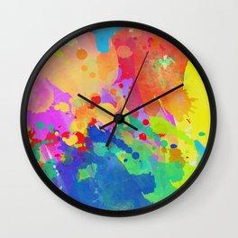 colour 10 Wall Clock