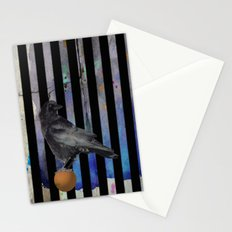 Crow Stripes Stationery Cards