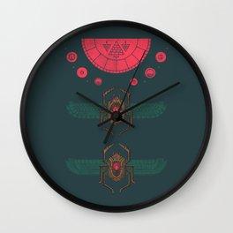 Scarabs Wall Clock