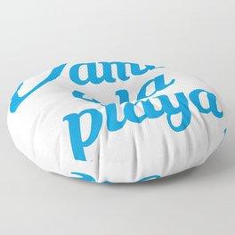 VAMOS A LA PLAYA Floor Pillow