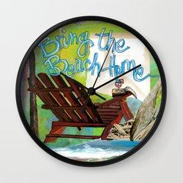 Beach Home Wall Clock