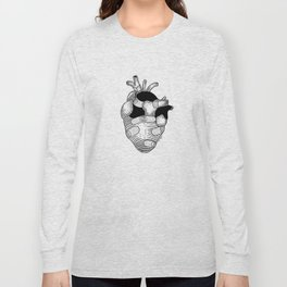 The strongest hearts have the most scars Long Sleeve T-shirt