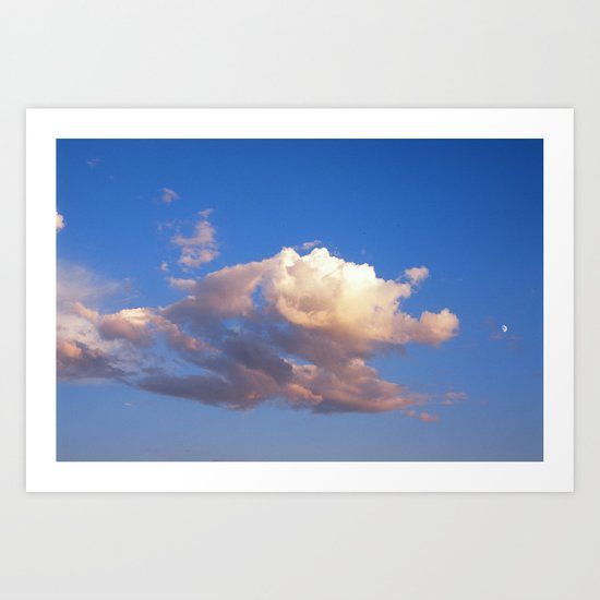 Big Sky Country  Art Print
