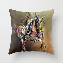 Lead Change. Throw Pillow