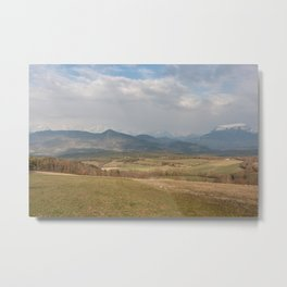 French mountain view Metal Print