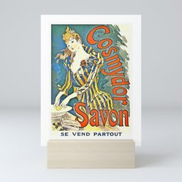 Cosmydor Savon by Cheret Art Nouveau Mini Art Print
