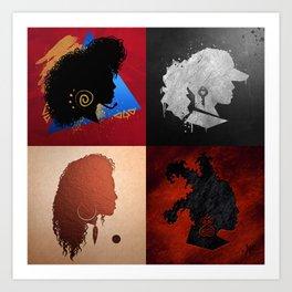 The Icon Art Print