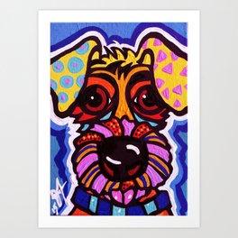 Rover Designer Dog Terrier Breed Puppy Art Print