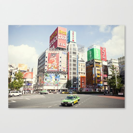 Tokyo Candyland Colors Canvas Print