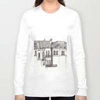 brussels Long Sleeve T-shirts featuring Brussels by MadmFia
