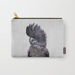 Black Cockatoo - Colorful Carry-All Pouch