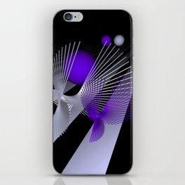 go violet -10- iPhone Skin