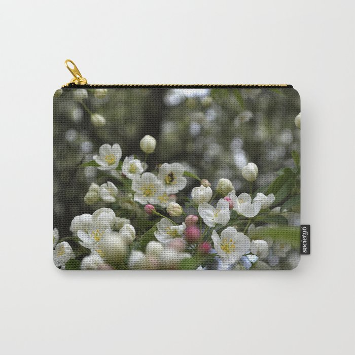 Red Buds and White Blossoms Carry-All Pouch