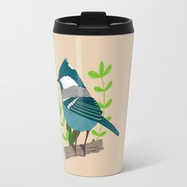 Blue bird Travel Mug