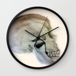 Side Skull Wall Clock