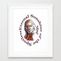 eternal sunshine of the spotless mind Framed Art Prints featuring Eternal Sunshine of the Spotless Mind by AdrockHoward