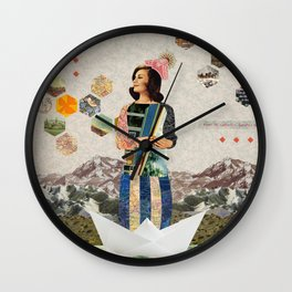 Maiden Voyage Wall Clock