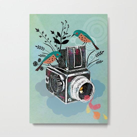 Vintage Camera Hasselblad Metal Print