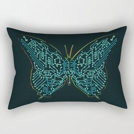 Mechanical Butterfly Rectangular Pillow