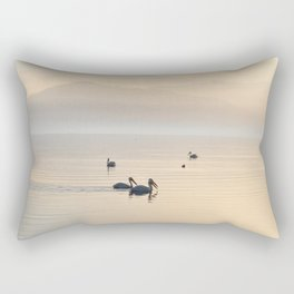 MYSTERIOUS SALTON SEA Rectangular Pillow