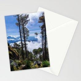 Volcano Tacana Descent Stationery Cards