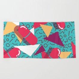 Pills Pattern 014 Beach Towel