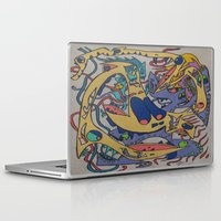 bookworm Laptop & iPad Skins featuring Bookworm by Gregree