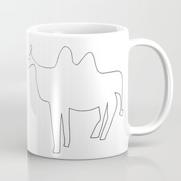 Line Camel Coffee Mug
