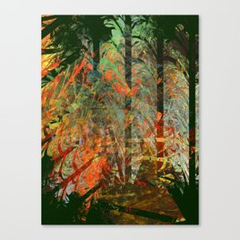 In the Himaphan Forest Canvas Print