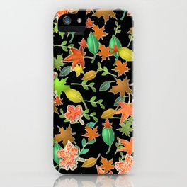 Herbstlaub colorful iPhone Case