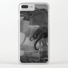 Serengeti Clear iPhone Case
