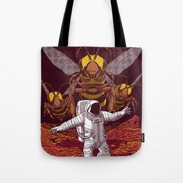 Killer bees on Mars. Tote Bag