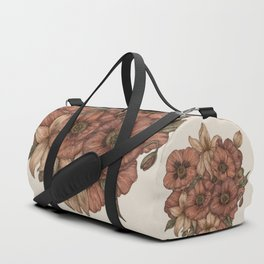 Poppies and Lilies Duffle Bag