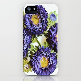 Matsumoto Asters iPhone Case