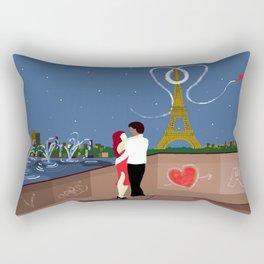 Valentines in Paris Rectangular Pillow