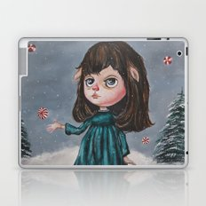 Harriette's Peppermint Wonderland Laptop & iPad Skin