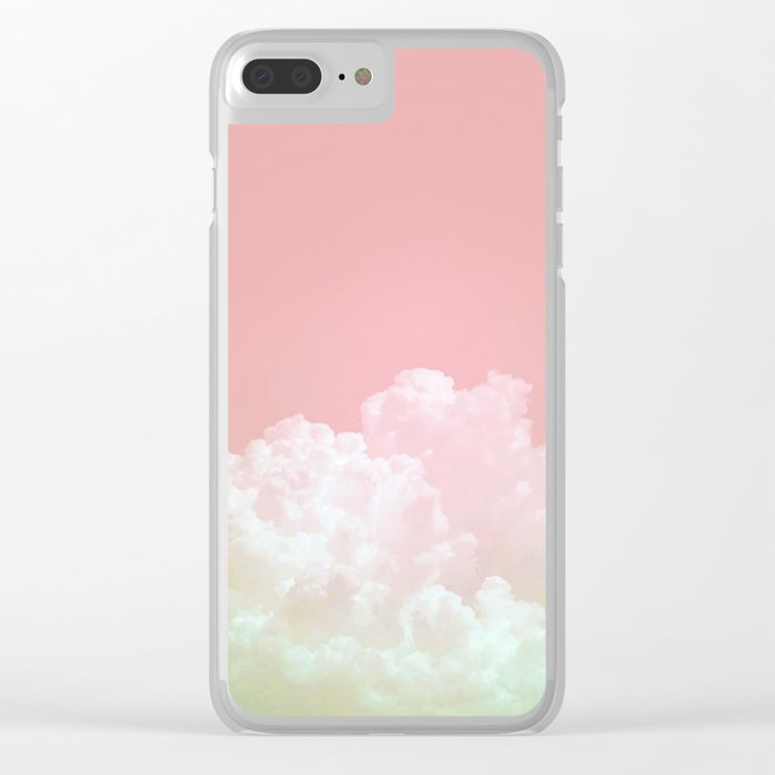 Dreamy Watermelon Sky Clear iPhone Case