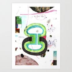 des6 Art Print