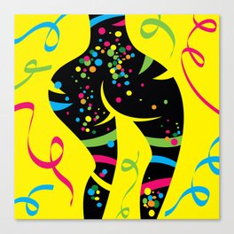 Body painted Canvas Print
