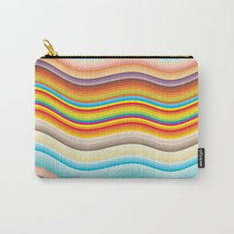 Rainbow Ripples Carry-All Pouch