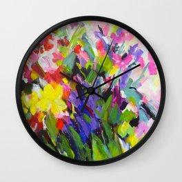 Garden Melody Wall Clock