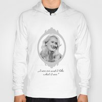 ashton irwin Hoodies featuring Madeline Ashton- Death Becomes Her/ Meryl Streep by BeeJL