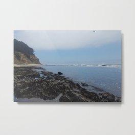 Moss Beach Metal Print