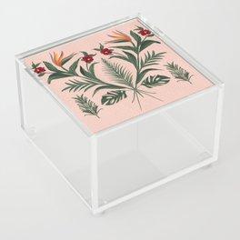 The Pink Tikki Room Acrylic Box