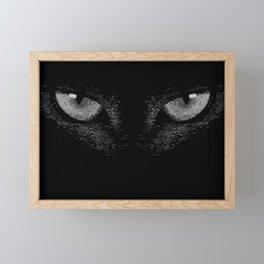i'm watching you Framed Mini Art Print