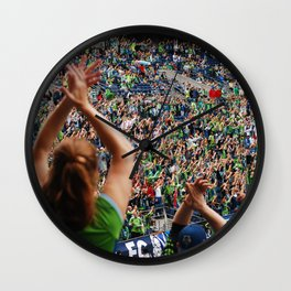 All as one for the Sounders!! Wall Clock