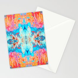 Lauterbrunnen Abstraction Stationery Cards